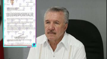 Presenta Jaime Lastra licencia definitiva a la FGE