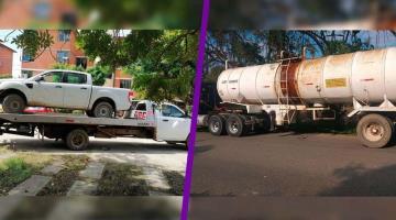 Recuperan en el municipio de Centro dos vehículos con reporte de robo