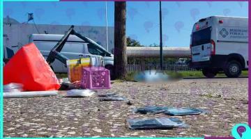 Riña entre comerciantes de cubrebocas en avenida Bicentenario termina con un muerto