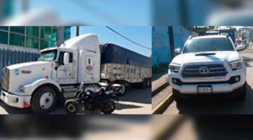 Recuperan dos vehículos robados en Villahermosa