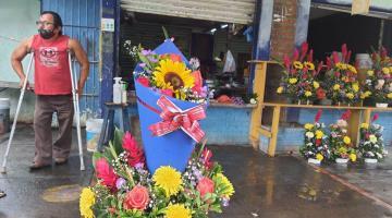 Quieren vendedores de flores les permitan operar el fin de semana del 14 de febrero