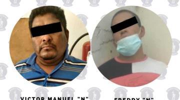 Detienen a 4 en Villahermosa por robo y portación de arma blanca