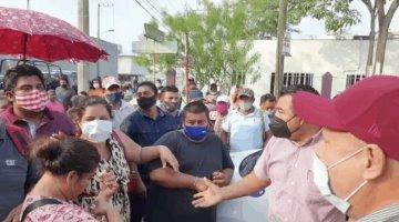Protesta en Bienestar termina con enfrentamiento entre manifestantes y automovilistas
