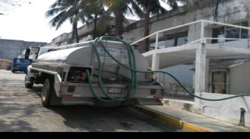 Ofrece ayuntamiento de Centro pipas abastecedoras de agua para zonas altas afectadas por trabajos en la potabilizadora Villahermosa