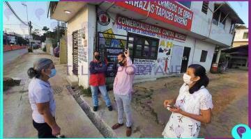 Denuncian habitantes de la López Mateos daños a propiedades por obras del distribuidor Universidad