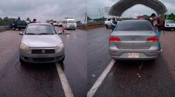 Detiene SEMOVI auto particular que brindaba servicio de transporte público en la Macuspana-Villahermosa
