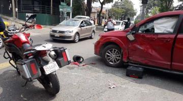 Se registran en Villahermosa tres accidentes automovilísticos