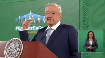 Calcula AMLO que economía mexicana crecerá 5% en 2021