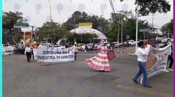 Solicitan proveedores y organizadores de eventos sociales en Tabasco, les permitan reanudar sus actividades