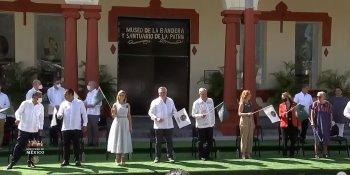 AMLO pone en marcha la Ruta de las Banderas Históricas desde el estado de Guerrero