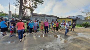 Denuncian en Monal que 200 familias se quedaron sin enseres tras entrega en la zona