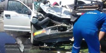 Bloqueo en La Venta Huimanguillo provoca dos accidentes
