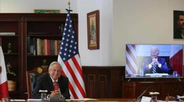 Invita AMLO a Biden a México
