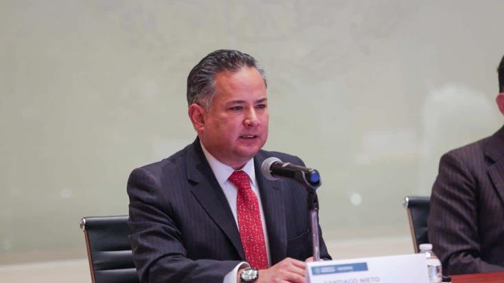 """""""Caso contra Cabeza de Vaca es sólido; EE. UU. ya compartió información sobre sus propiedades"""": Santiago Nieto"""