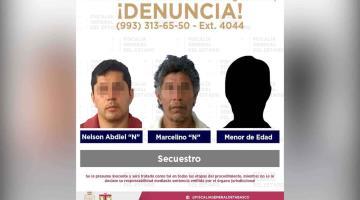 Rescata FGE a víctima de secuestro en Nacajuca y detiene a tres presuntos responsables