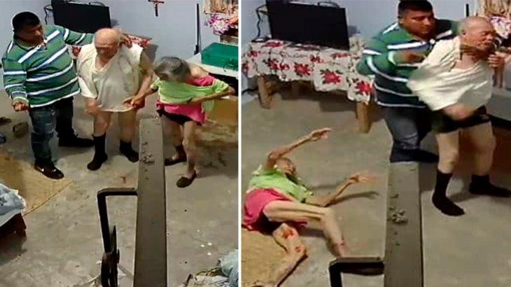 ¡Desgraciado! Sujeto golpea y asalta a pareja de adultos mayores en Michoacán