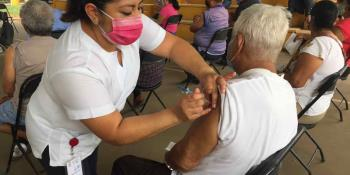 Hoy continúa la aplicación de la segunda dosis de la vacuna antiCovid en Centro, Nacajuca y Jonuta