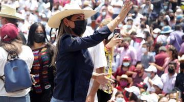 Designan a Evelyn Salgado, hija de Félix Salgado, como candidata de Morena a la gubernatura de Guerrero