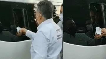 Candidato de Morena en Irapuato es captado regalando billetes de 500 a los ciudadanos