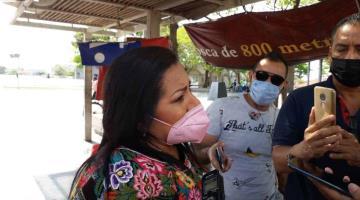 """Diputada se vacunará contra el COVID como maestra, pues """"volverá a las aulas"""" terminando su periodo como legisladora"""