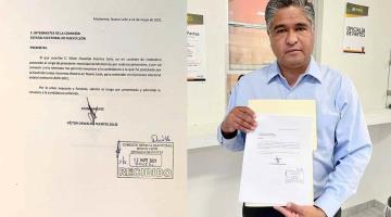Renuncia Víctor Fuentes a candidatura de Morena por la alcaldía de Monterrey; alega motivos personales