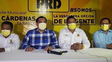 Acusa PRD Tabasco a Morena de impugnaciones excesivas contra sus candidatos