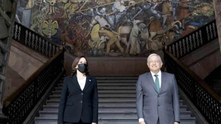 AMLO y Kamala Harris pactan futuras reuniones sobre economía y seguridad; acuerdan facilitar inversión en el sur de México