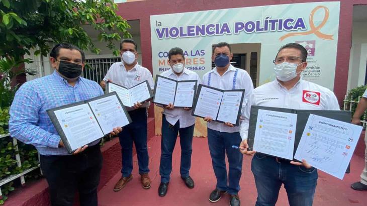 ¡No se cansan de humillarse! Anuncian PRI, PAN, PRD, MC y RSP 'bloque opositor' en Tabasco