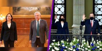 """Revela Kamala Harris que pidió a los presidentes de México y Guatemala, que dejen """"trabajar"""" a las ONG y a la prensa"""