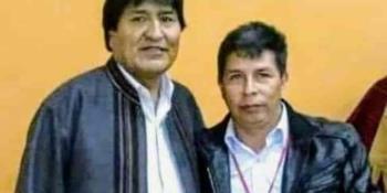 Denuncia Evo Morales que detrás de la revisión de actas de votación en el Perú se esconde un plan golpista para robar el triunfo